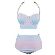 halterneckpushupbikini, bathing suit, Fashion, bikini set
