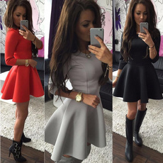 gowns, Fashion, long sleeve dress, Long Sleeve