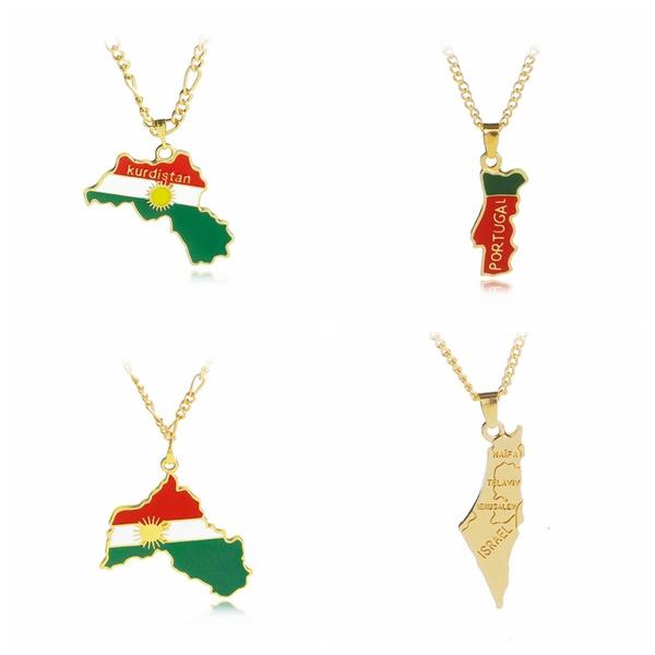 Personalized necklace, Jewelry, trendyneckalce, gold