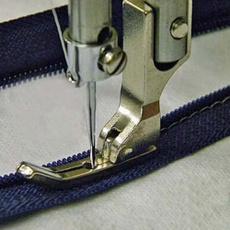 zipperfoot, presserfoot, Sewing, Metal