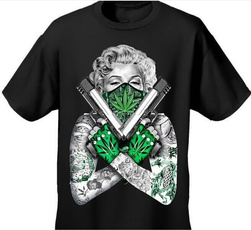 Mens T Shirt, Cotton, Funny T Shirt, leaf