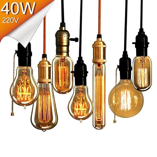 Light Bulb, incandescentbulb, pendantlight, edisonbulb