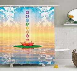 fashionshowercurtain, showercurtainsampenclosurering, Bathroom, Yellow