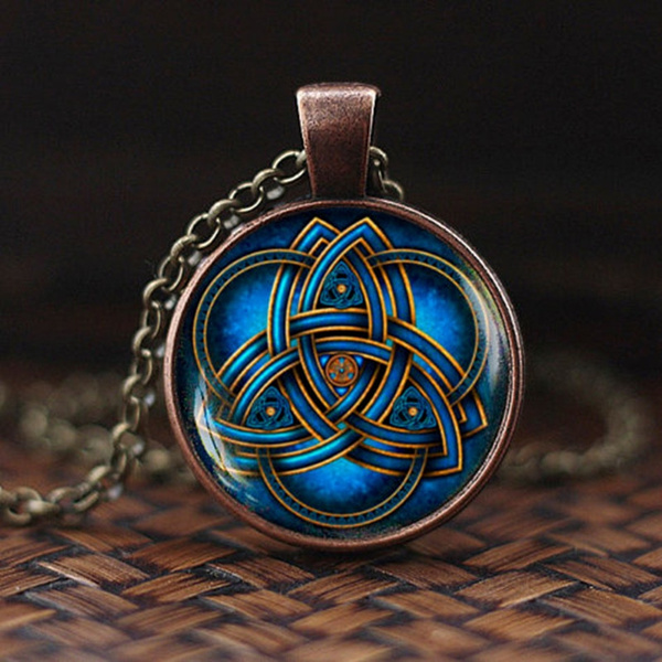 Blues, bluetriquetrapendant, Celtic, Triangles