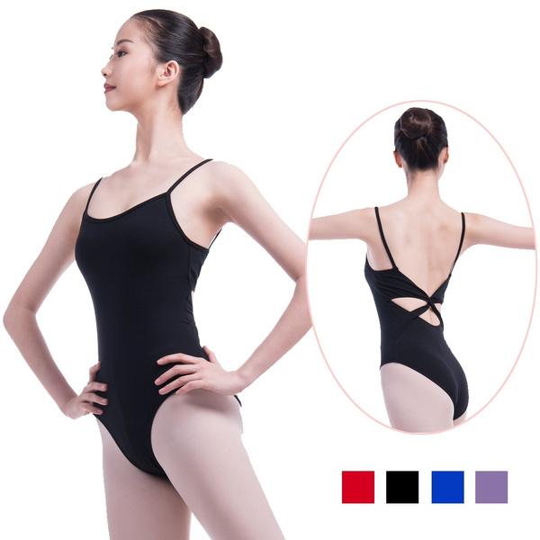 Ladies Dance Leotard DL011 Black Cotton