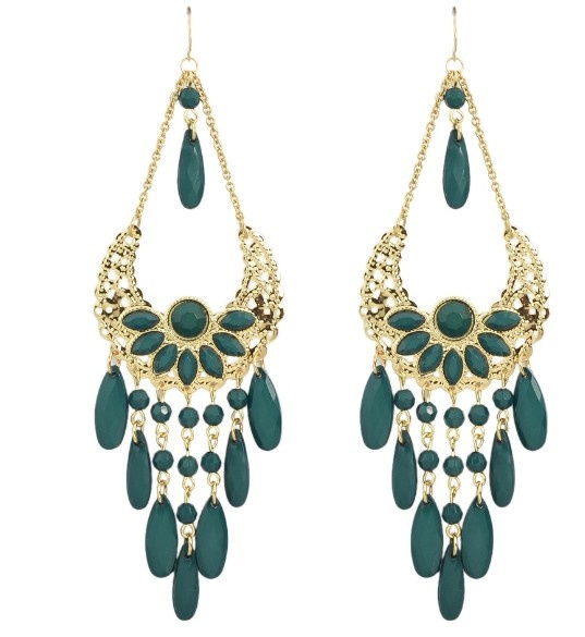 hotsaleearring, bigchandelierearring, Gemstone Earrings, Colorful