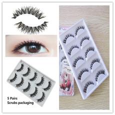 Eyelashes, mink, Natural, Beauty