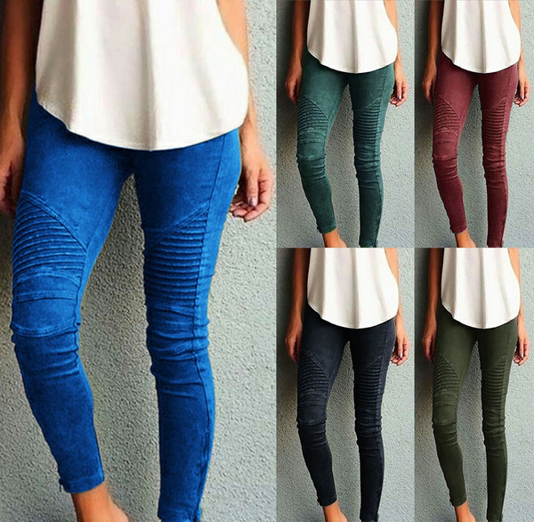 Leggings, Fashion, Elastic, pants