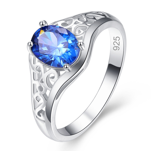 Blues, 925 sterling silver, Jewelry, 925 silver rings