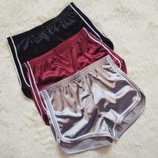 Summer, Shorts, Elastic, Waist