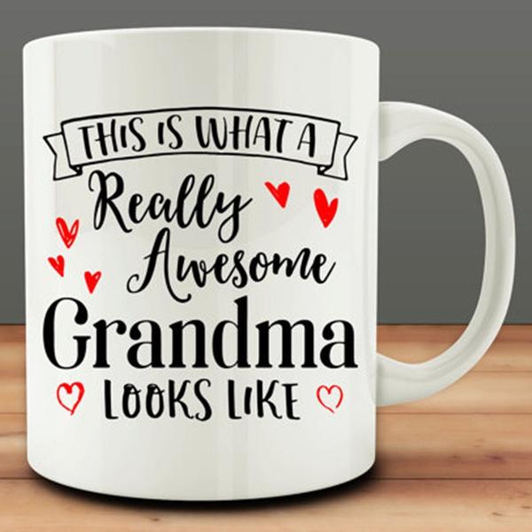 keepcalmgrandmacup, grandmamug, awesomegrandmacup, grandmagiftmug