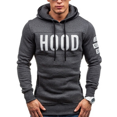 hoodiesformen, hooded, sweater coat, Spring