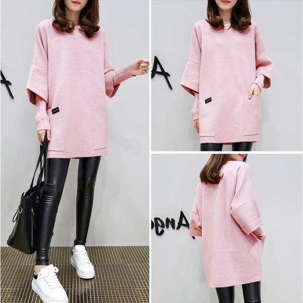 pink, woolen coat, breastfeeding tops, Fashion
