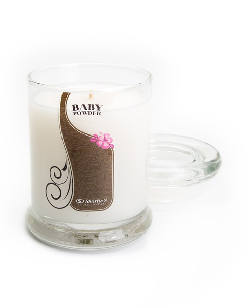 Baby, Candle, white, freshcalmingrelaxingstressreliefbabypowder