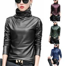 velvettopsforwomen, Plus Size, velvet, Sleeve