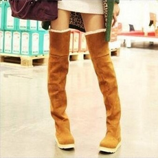 Fashion, stretch, overknee, Boots
