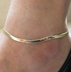Summer, Arrow, Anklets, Chain
