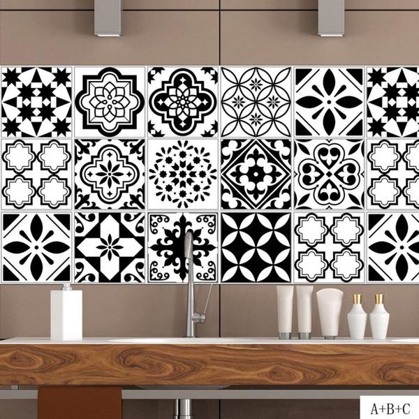 bathroomsticker, Home Decor, Waterproof, Stickers