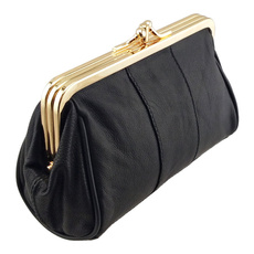 women bags, leather wallet, Fashion, candy color