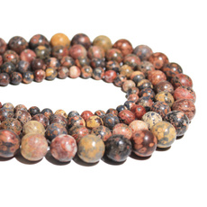 roundbead, diybracelet, Leopard, Bracelet