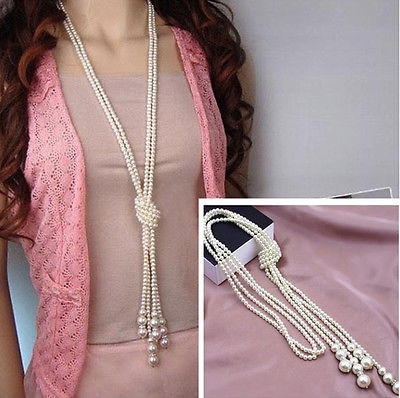 imitationpearlsnecklace, Chain Necklace, Jewelry, women necklace