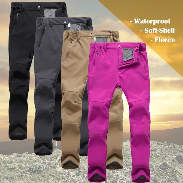 Women Pants, Mountain, Fleece, Slim Fit