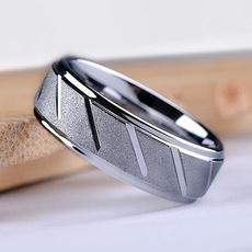 Steel, DIAMOND, Jewelry, rings for women