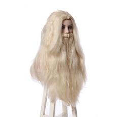 wig, Cosplay, dumbledore, long