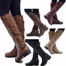 Knee High, Moda, Platform Shoes, Moda femenina