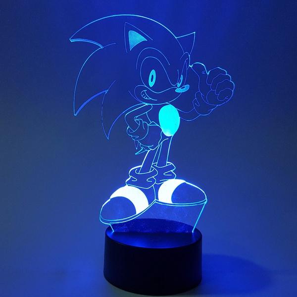 sonic, led, Christmas, figure