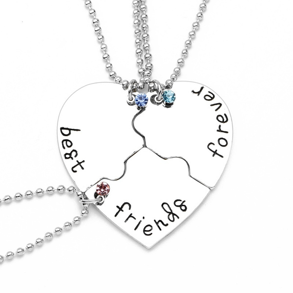 Heart, friendshipnecklace, Jewelry, Fashion necklaces