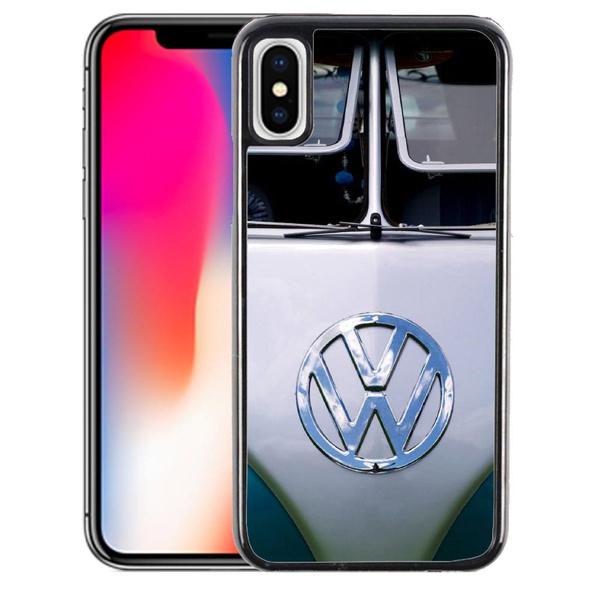 Coque iPhone X Combi Van Volkswagen VW Gris | Wish