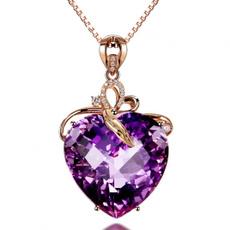rhinestoneinlaid, Heart, foreverlove, Pendant