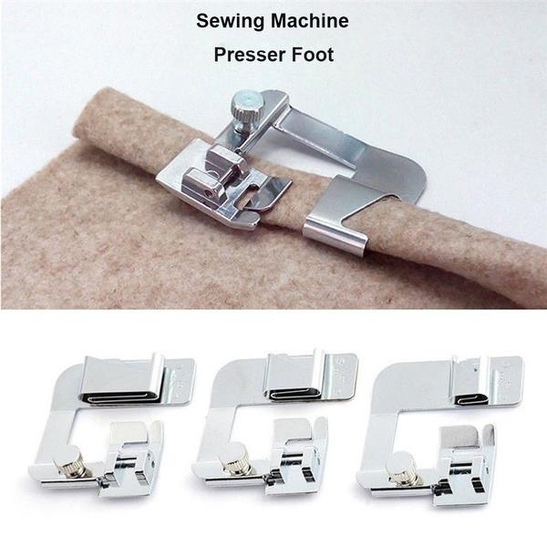 Steel, Machine, Sewing, rolledhemfeet
