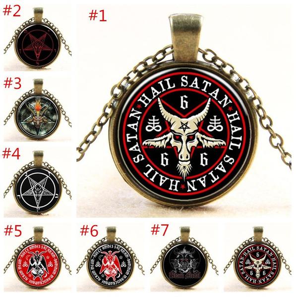 Jewelry, Vintage, satanic, Necklaces Pendants