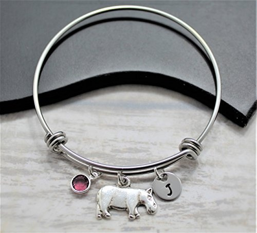 Charm Bracelet, hippo, Jewelry, hopecharm