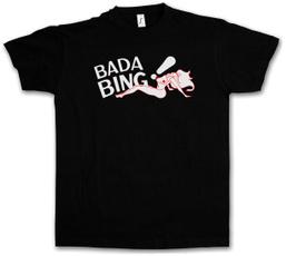 summerstyletshirt, men's cotton T-shirt, badabingtshirt, TV