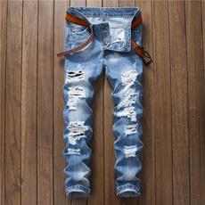 Blues, ripped, Fashion, pants