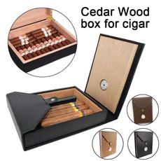 Box, case, leather, portablecigarettebox