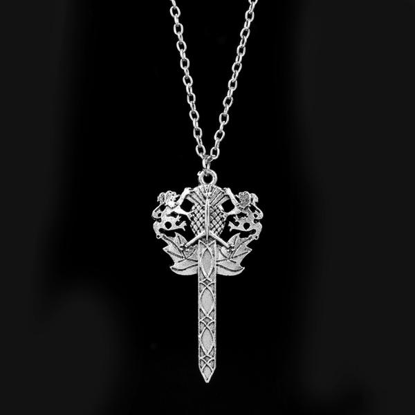 Flowers, Jewelry, Chain, outlander