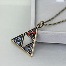 Triangles, legendofzeldanecklace, Fashion, Cosplay