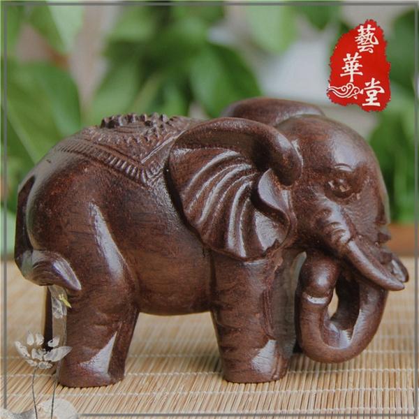 Antique, decoration, Elephant, Wood