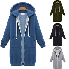 Plus Size, hooded, Winter, waim