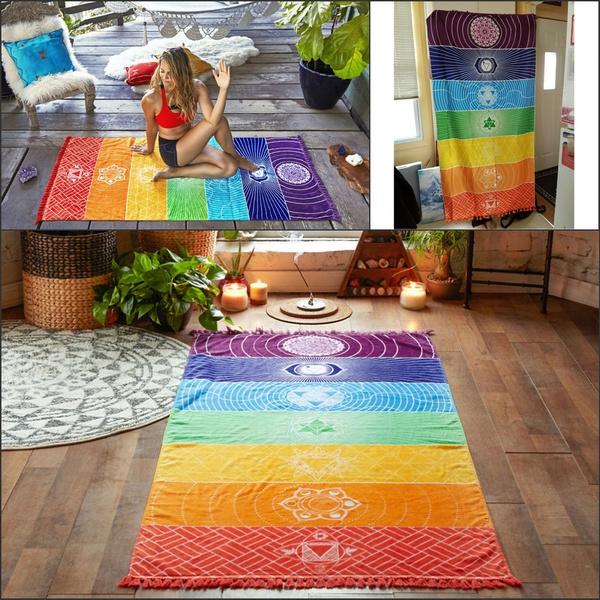 bohemia, Summer, Fashion, rainbow