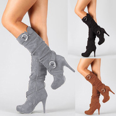 Knee High Boots, Moda, Invierno, long boots