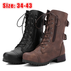 combat boots, Womens Boots, Leather Boots, Shorts