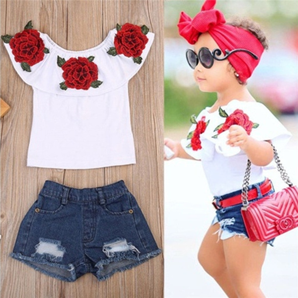 Flowers, Clothes, girlsoutfit, Tops