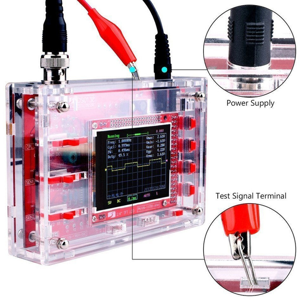 weld, oscilloscope, fully, probe