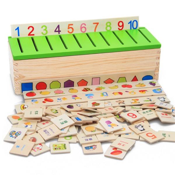 Box, montessori, Educational, Toy