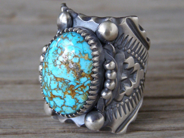 Antique, Mountain, Turquoise, 925 sterling silver